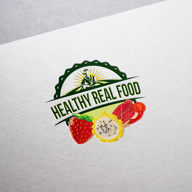 Custom Logo Client: Healthy Real Food